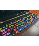 Universal Keyboard stickers Decal Decoration Protector Super hero Logo M... - $13.97