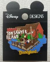 Rafts to Tom Sawyer Island Pin 367 1998 Disneyland Attraction Series - $29.69