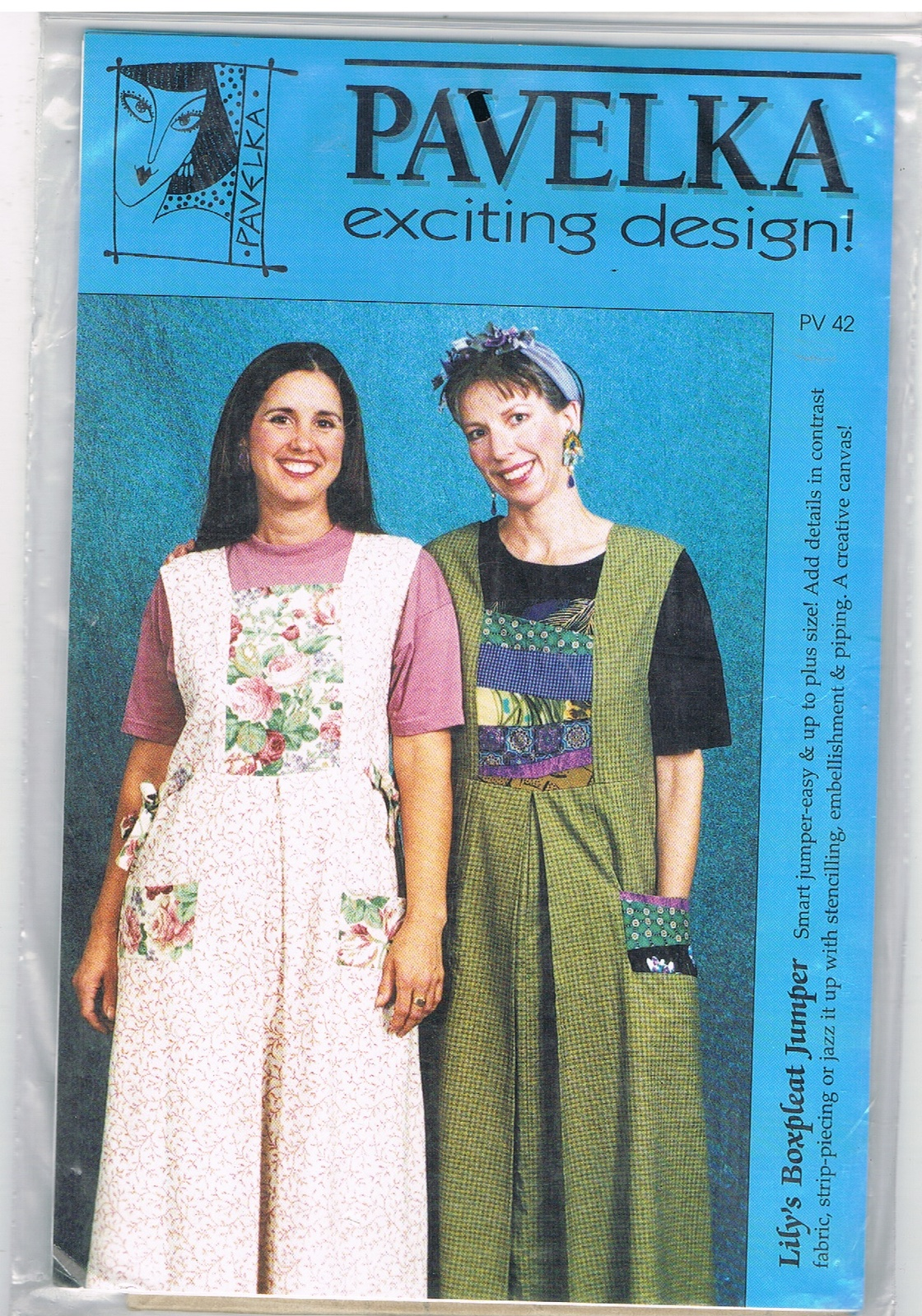 Primary image for Pavelka Lily's Boxpleat Jumper Sewing Pattern