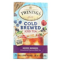 Twinings Mixed Berries Cold Brewed Iced Tea, 20 ct - $5.94