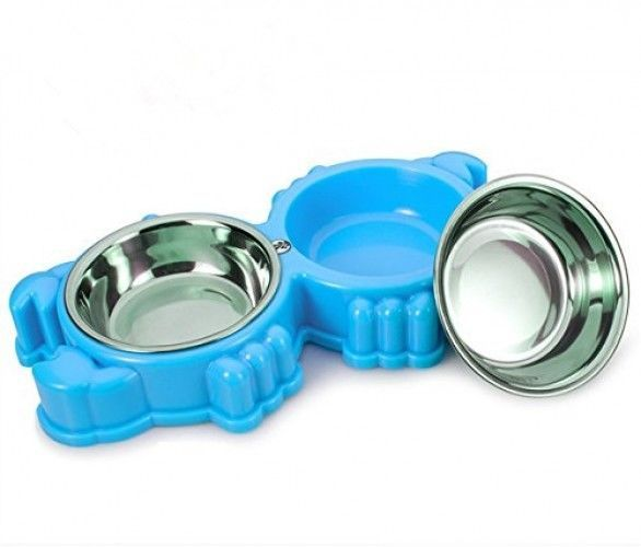 Primary image for Small Pet Bowls And Cat Dog Bowl ,Pet Dish Feeding Station With Stainless Steel