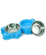 Small Pet Bowls And Cat Dog Bowl ,Pet Dish Feeding Station With Stainles... - $24.06