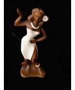 Walt Disney World Vintage Souvenir Dancing Island Girl Ceramic Figure br... - $20.00