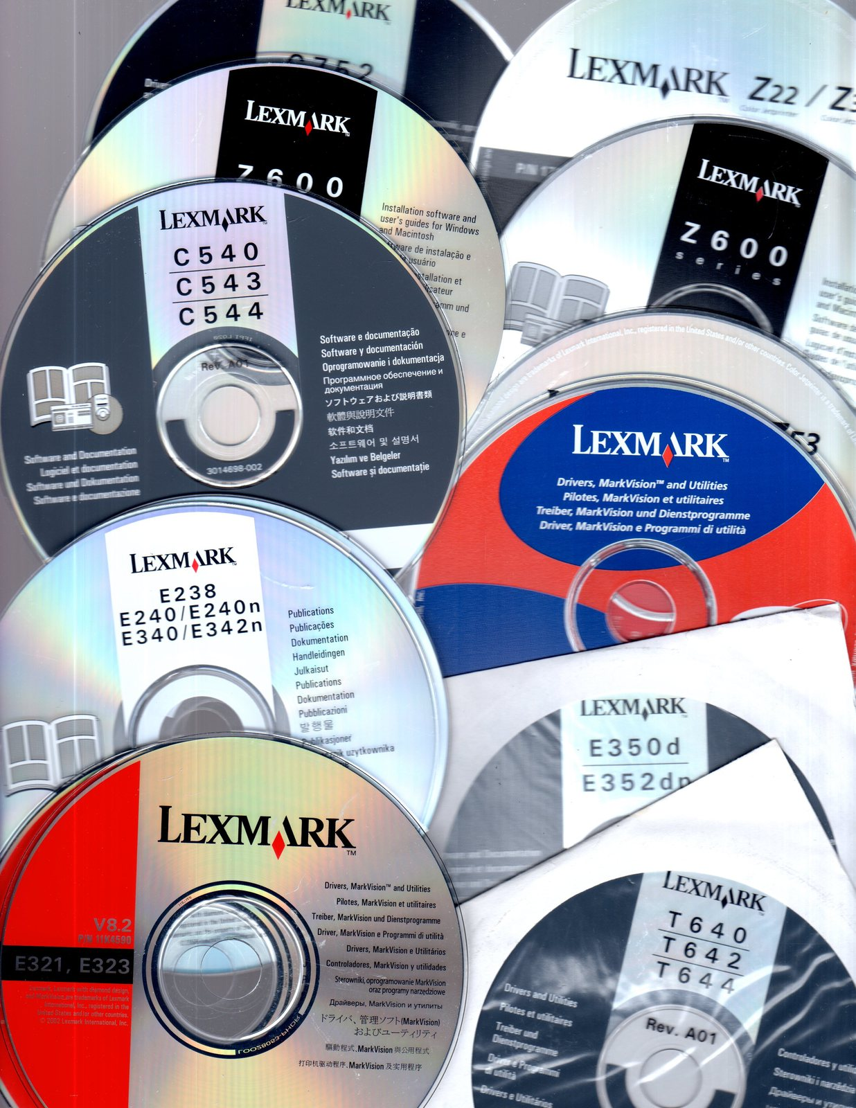 Lexmark Printer Operating System Software (!0 Printers)