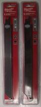 "Milwaukee 48-00-1431 9"" Carbide Grit Sawzall Blade 2pcs. United Kingdom - $9.90"