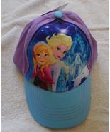 Disney Frozen Elsa & Anna Girls Baseball Cap On... - $14.80