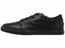 Lacoste Bayliss 318 2 Black Grey Men's Shoe Fashion Sneaker 36CAM0007231 - $83.95
