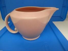 California Pottery Vernon Kiln Early Creamer Gravy Boat ? Pink Very good - $13.53