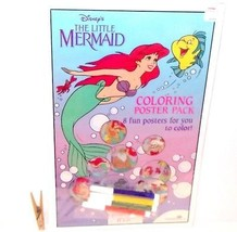 """Disney THE LITTLE MERMAID Coloring Poster Pack 8 Posters SEALED 11"""" x 17... - $19.99"""