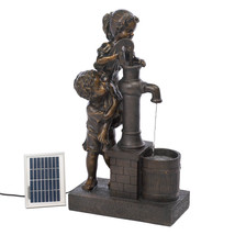 Teamwork Solar Fountain (Incl. Pump) - $167.16
