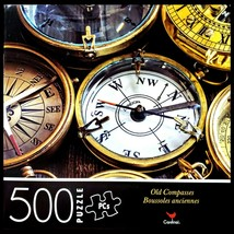 500 Piece Jigsaw Puzzle Cardinal 14 in x 11 in - Old Compasses - $5.65