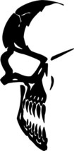 Skull Vinyl Decal Sticker Graphic Style 1 M - $7.75