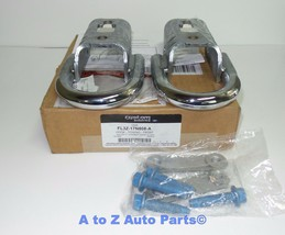 NEW 2009-2020 Ford F-150 Front CHROME (2) Tow Hooks Set With Hardware, OEM - $79.95