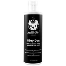 MaddieGirl Organics - 9oz Dirty Dog Deep Cleansing Detox Shampoo for Dogs - with