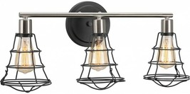 Bathroom Vanity Lighting 25.13 in. 3-Light Down-Up Direction Graphite Fi... - $126.02