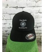 True North Trucking Co Mens O/S Hat Black Flexfit Meshback Baseball Cap - $19.79