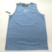 Nike Women Swoosh Tank Top Shirt - BQ7964 - Blue 458 - Size XL - NWT - $19.99