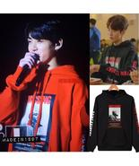A Bangtan Boys Tracksuit Loose Hoodie Sweatshirt Kpop Streetwear Harajuk... - $17.99