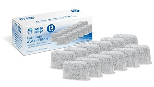 Fette Filter - Activated Charcoal Water Filters for Coffee Machines Compatible w