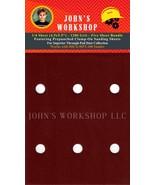 HICO HPT-100 - 1/4 Sheet - 1200 Grit - Pre-Punched - 5 Sandpaper Bundle - $7.49