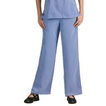 Dickies Women's Elastic with Drawstring Waist Scrub Pant, Ceil Blue, X-Large - $14.84