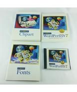 Corel WordPerfect 7 Suite Windows 3.1x  Books and CD Vintage Quattro Pro... - $45.99