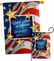 Independence Since 1776 - Impressions Decorative Flags Set S137219-BO - $55.25