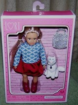 """Lori by Our Generation KAYDENCE 6.5""""H Doll & Kiki her kitty New - $25.25"""