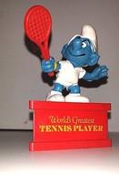 VINTAGE SMURF 'WORLD'S GREATEST TENNIS PLAYER'   WALLACE BERRIE /PEYO/SC... - $8.91