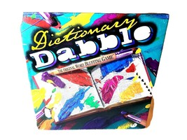 DICTIONARY DABBLE Vintage 1998 New/Sealed Original Word Bluffing Board ... - $12.99