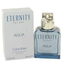 Eternity Aqua by Calvin Klein 3.4 oz EDT Spray for Men - $34.64