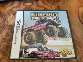Bigfoot: Collision Course (Nintendo DS, 2008) complete in box - $8.90