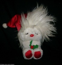 "7"" VINTAGE 1984 R DAKIN FROU FROU FLUFF UP CHRISTMAS STUFFED ANIMAL PLUS... - $25.76"