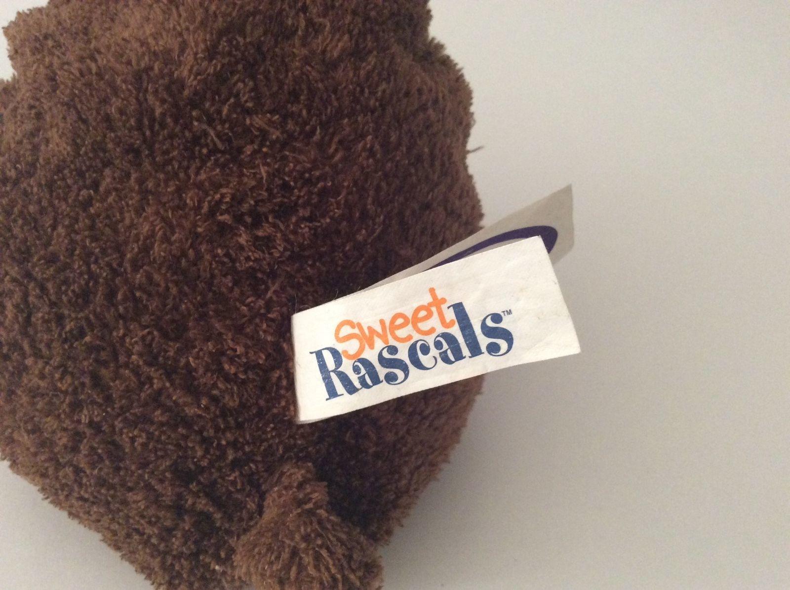 "MARY MEYER Sweet Rascals brown MOOSE 9"" plush"