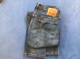 z114 men's levi 541 jeans tag 30 32 act 32 32 cotton 99 elastin 1 nice - $10.45