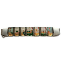 Vintage souvenir from a Soviet prison. Handmade bracelet for women watches - $26.18