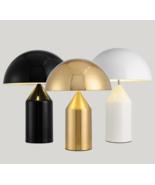 Oluce Atollo Desk / Table Lamp E14 Light Metal Shade Reading 3 Finish Re... - $242.55+