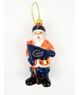 University of Florida Gators Santa Claus Ornament UF NCAA Collegiate Col... - $13.99