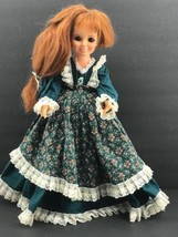 "VINTAGE 1971 IDEAL GROWING HAIR RED HEAD CRISSY 18"" DOLL Green Prairie D... - $9.90"
