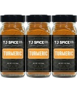TJ Spices Ground Turmeric (3 Pack) - $19.79