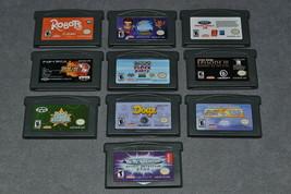 Nintendo Game Boy Advance: 10 Game Lot b - $22.00