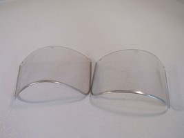 Jackson Lot of 2 Faceshields For Z-87 Clear 060 Plastic - $13.13