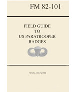 Field Guide to US Paratrooper Badges - $25.00