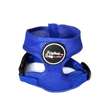Alpha Dog Series Pet Safety Harness (Large, Blue) - $9.99