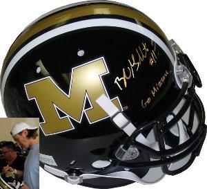 Blaine Gabbert signed Missouri Tigers Full Size Authentic Schutt Helmet- Go Mizz - $198.95