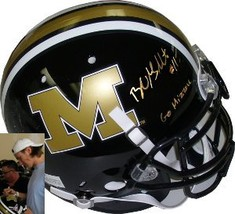 Blaine Gabbert signed Missouri Tigers Full Size Authentic Schutt Helmet-... - $205.95