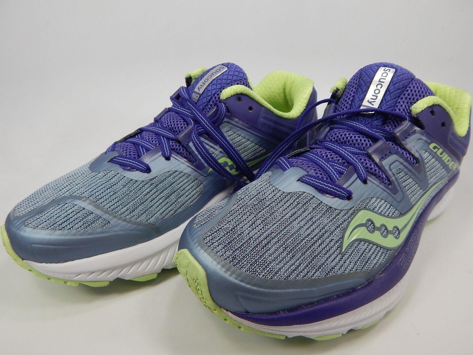 Saucony Guide ISO Size 7.5 M (B) EU 38.5 Women's Running Shoes Purple S10415-1