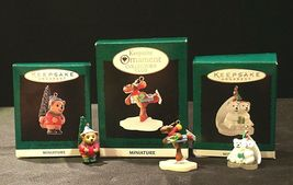 Hallmark Handcrafted Ornaments AA-191774F Collectible ( 3 pieces ) image 6