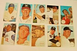 10 Topps 1964 Giant Size All-Star Baseball Cards: Yaz, Cepeda, Spahn, Freehan - $9.89