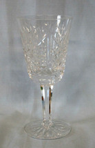 "Waterford Clare Cut 5 5/8"" White Wine Stem Goblet - $27.61"